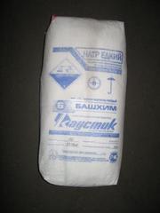 Сода каустическая чешуир. (натр едкий),  мешки по 50кг.