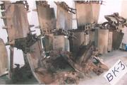 Ковшевая цепь с ковшами для котлованокопателя ВК-3