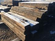 Шпалы деревянные бу 1 и 2 типа
