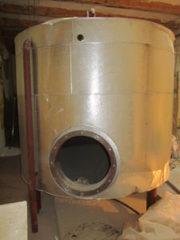 Продается Емкость стальная — бойлер,  объем — 3, 9 куб